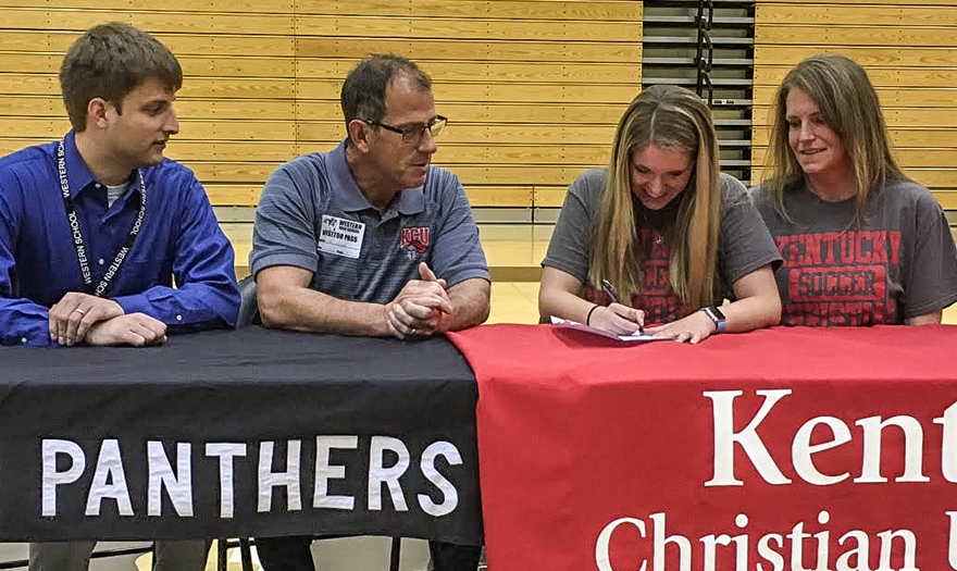 Photo for Kelcee Cochran Signs With KCU Lady Knights Soccer