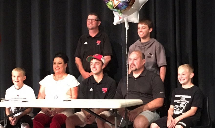 Photo for Reece Griffith Signs With Men's Golf