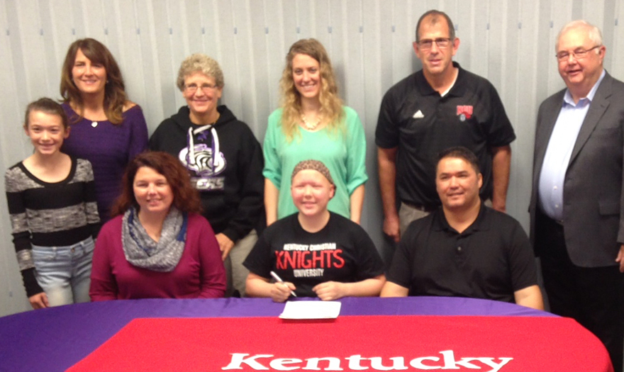 Photo for Abi Webster Signs With Lady Knights Soccer