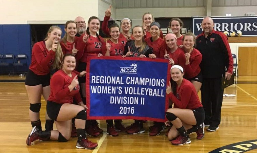 Photo for VolleyKnights Win Mideast Region Title