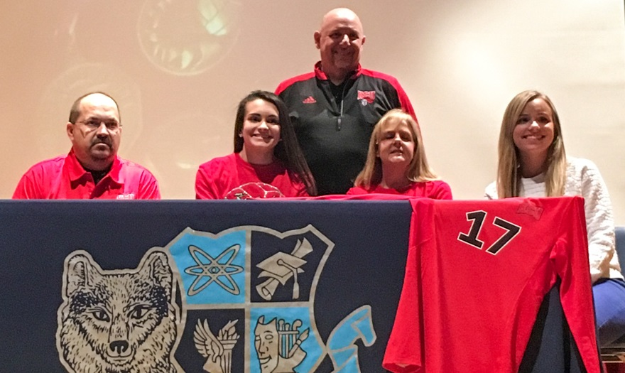Photo for Olivia Barrett Commits to KCU Volleyball