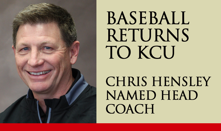 Photo for KCU Brings Back Baseball, Hensley Named Head Coach