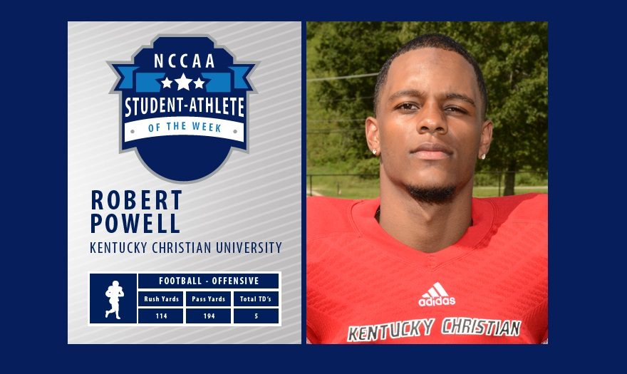 Photo for KCU Football's Robert Powell Receives Recognition