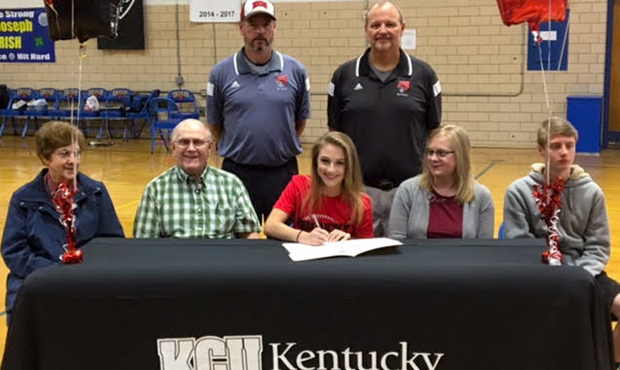 Photo for Paige Metzgar Signs With KCU Softball