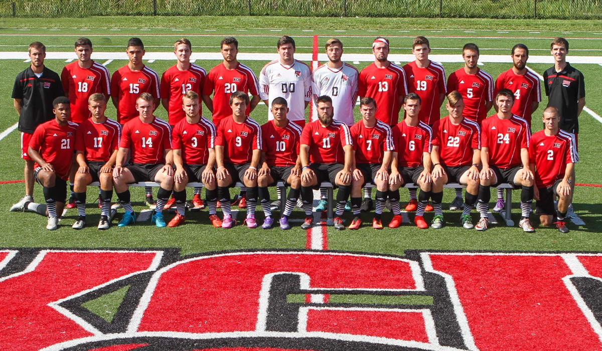2016 Men's Soccer Team Photo
